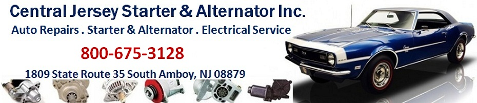 Central Jersey Starter & Alternator - ACDelco, Truck Repair, Car Repair, Auto Repairs, Auto Parts, Auto Oil Change, Auto Inspection:  732-727-4486; 1809 State Route 35 South Amboy, NJ 08879